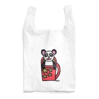 マグカップパンダ Reusable Bag