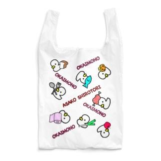 トリさんとお買い物 エコバッグ Reusable Bag