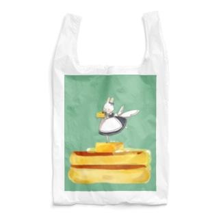 ホットケーキとうさぎさん Reusable Bag