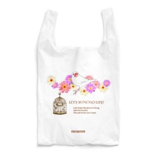 マーガレット白文鳥 Reusable Bag
