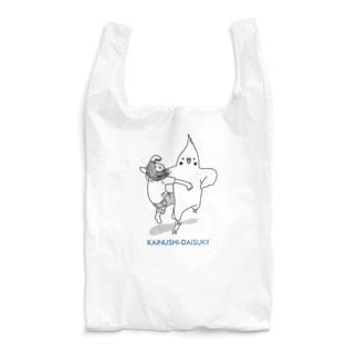 カイヌシとじゃれ合うインコさん(ラリアット) Reusable Bag