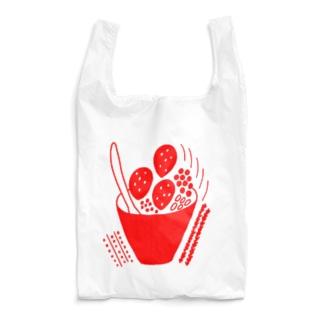 いちごボール Reusable Bag