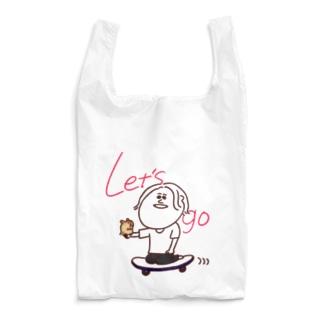 ハムスターとレッツゴー Reusable Bag