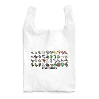 ピクセルバード・集 Reusable Bag