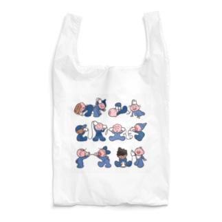 もしも〜し blue Reusable Bag