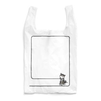 イヤイヤ柴犬(黒柴) Reusable Bag