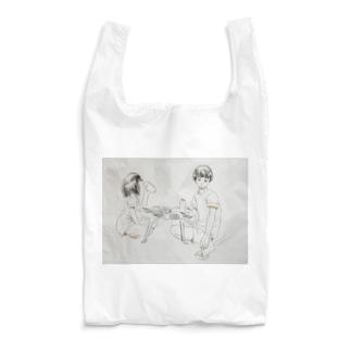 カップル(食卓) Reusable Bag