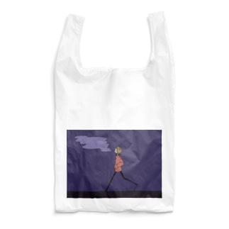 夜のさんぽ Reusable Bag