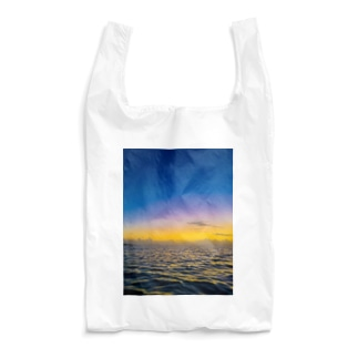 Night to the crescent moon Reusable Bag