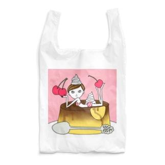 Cherryプリンガール Reusable Bag