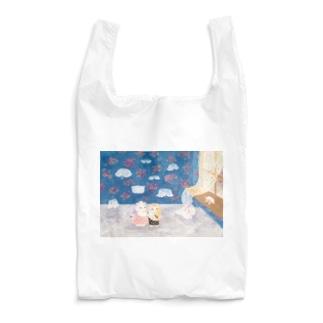 ねこの付け襟やさん Reusable Bag