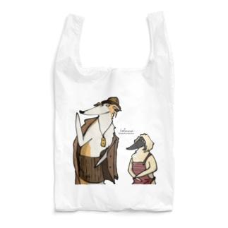 フーテンのボルゾイ Reusable Bag