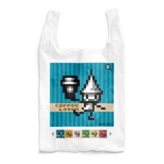 CoffeeLoverドッツさん Reusable Bag