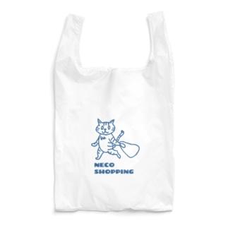かいものねこ Reusable Bag