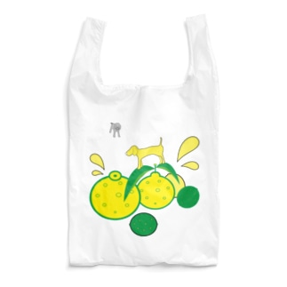 Dogs on the 5 Citrus Reusable Bag