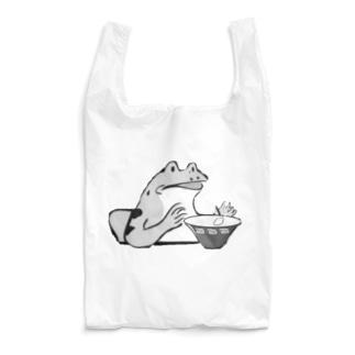 食用アマガエルモノクロシリーズ Reusable Bag
