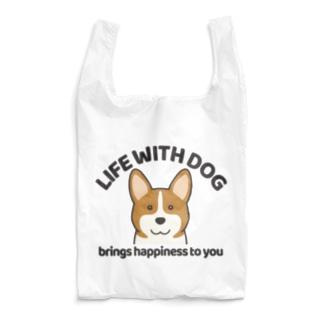 犬と共に(コーギー)  Reusable Bag