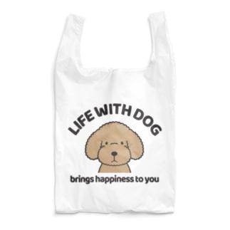 efrinmanの犬と共に(トイプー/アプリコット)  Reusable Bag