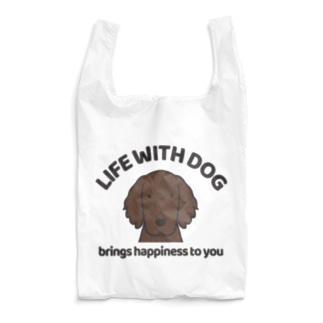 efrinmanの犬と共に(フラット/レバー)  Reusable Bag