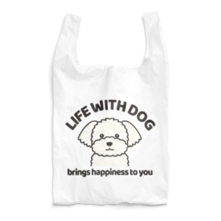 犬と共に(マルチーズ)  Reusable Bag