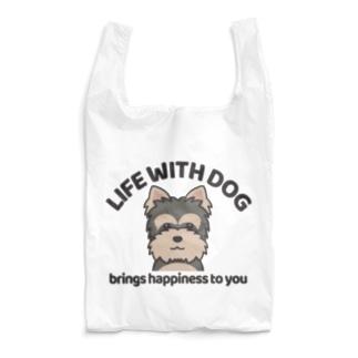 犬と共に(ヨーキー)  Reusable Bag