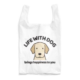 犬と共に(ラブ/イエロー)  Reusable Bag