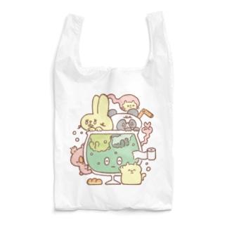 あつまるどうぶつの盛り Reusable Bag