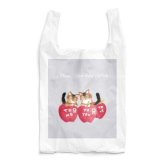 HappyUnbirthdayParty:APPLE DECORATION Reusable Bag
