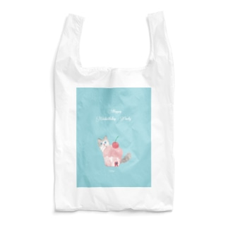 HappyUnbirthdayParty:CUPCAKE Reusable Bag