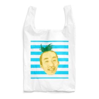 サティパイナポヘアシリーズ bikke作成 Reusable Bag