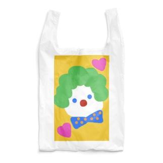 永遠にんにくガールworldのアフロぴえろくん🤡 Reusable Bag
