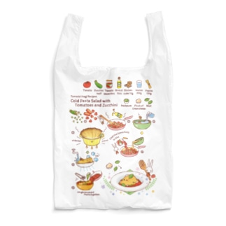 トマト&ズッキーニ パスタ - レシピシリーズ Reusable Bag