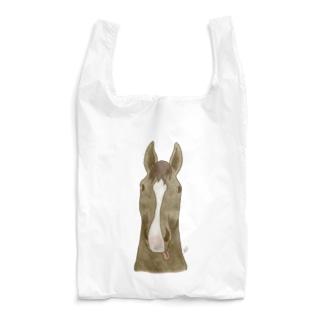 馬の鼻先 Reusable Bag