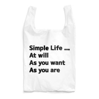 気ままやんず シンプルライフ エコバッグ Reusable Bag