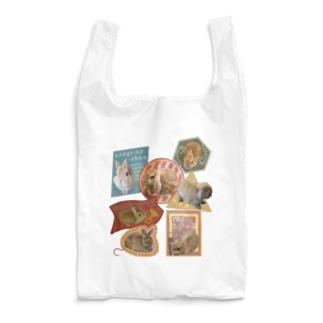 うさステッカー風 Reusable Bag