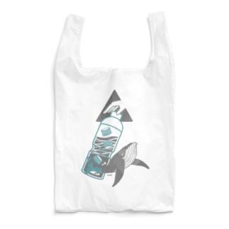 海洋ゴミから守りたい | クジラ Ver. Reusable Bag