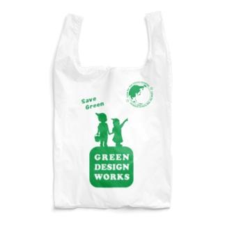 GDWエコバッグ Reusable Bag