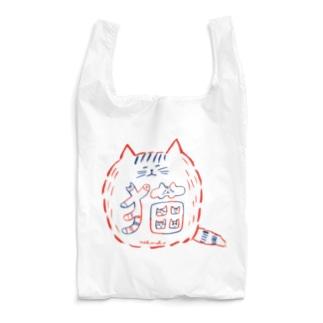 猫文字01 Reusable Bag