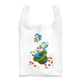 blue bird Reusable Bag