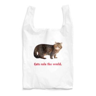 猫が世界を支配するエコバッグ Reusable Bag