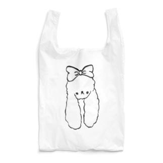 うえむきうさぎ と したむきいぬ Reusable Bag