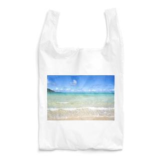 beach. Reusable Bag