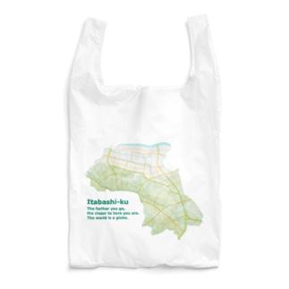 板橋くわしいマップ Reusable Bag