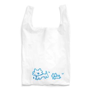妹が落書きしたいっぬ親子 Reusable Bag