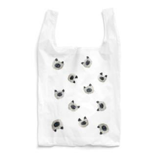 ぼんやり顔のシャム猫 Reusable Bag