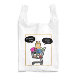 お買い物大好きシェルティーさん Reusable Bag