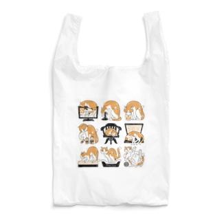 邪魔する猫 Reusable Bag