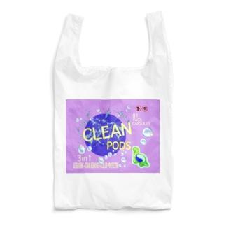 恐竜型洗濯洗剤PODタイプ Reusable Bag