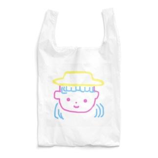 永遠にんにくガールworldの帽子の女の子👧💫 Reusable Bag