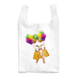 うさぎさんのお買い物 カラフル Reusable Bag